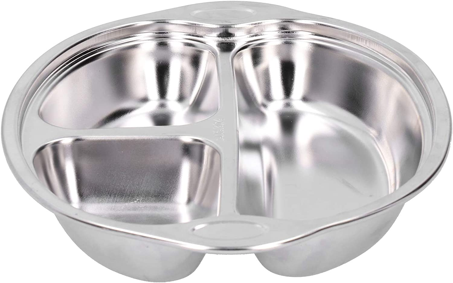 Children ! Super beauty product restock quality top! Plate Stainless Steel Manufacturer direct delivery Children's T Divided Dinner