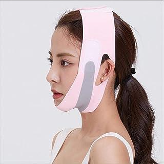 wsbdking Face-Lift Elastische Gezicht Afslanken Bandage V Lijn Gezicht Shaper Chin Cheek Heft Riem Dames Facial Anti Rimpe...