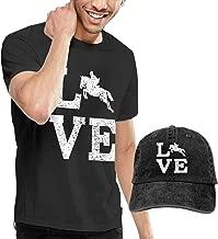 Novelty Men's Love Horse T-Shirt and Hats