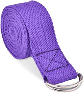 Monico Leg Stretcher Strap, Adjustable Multi-Purpose Exercise Ballet Stretch Band, Easy Install and Flexibility Door Stret...