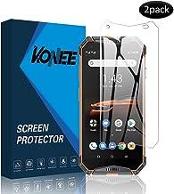 KONEE Protector de Pantalla para Compatible con Ulefone Armor 3W, 【2 Piezas】 Ultra HD [ Dureza 9H, Alta Definición, Anti-Burbuja, Anti-Scratch ], Cristal Vidrio Templado para Ulefone Armor 3W