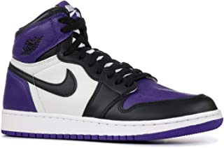 separation shoes 57be4 8f5cc Youth Air Jordan 1 Retro High OG Court Purple 575441 501 Size 6y