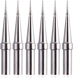 2 X REPLACEMENT FLAT 2MM TIP 4 FOR SOLDERING IRON HQ-SOLDER20//30 ETC