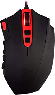 ZHANGXIAOYU Gaming Mouse High Precision 24000DPI 18 Buttons Programmable Big Laser Gamer Mice with Weights