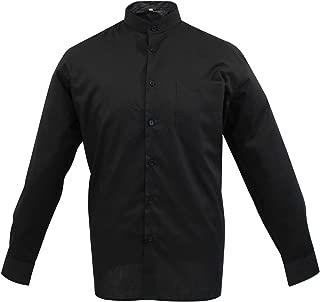 Camisa Uniforme Camarero Caballero Cuello Mao Mangas LARGAS MESERO DEPENDIENTE Barman COCTELERO PROMOTRORES - Ref.827