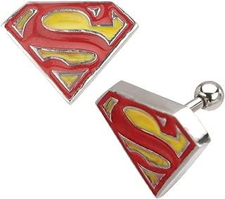 Superman Licensed Logo Cartilage Stud Earring