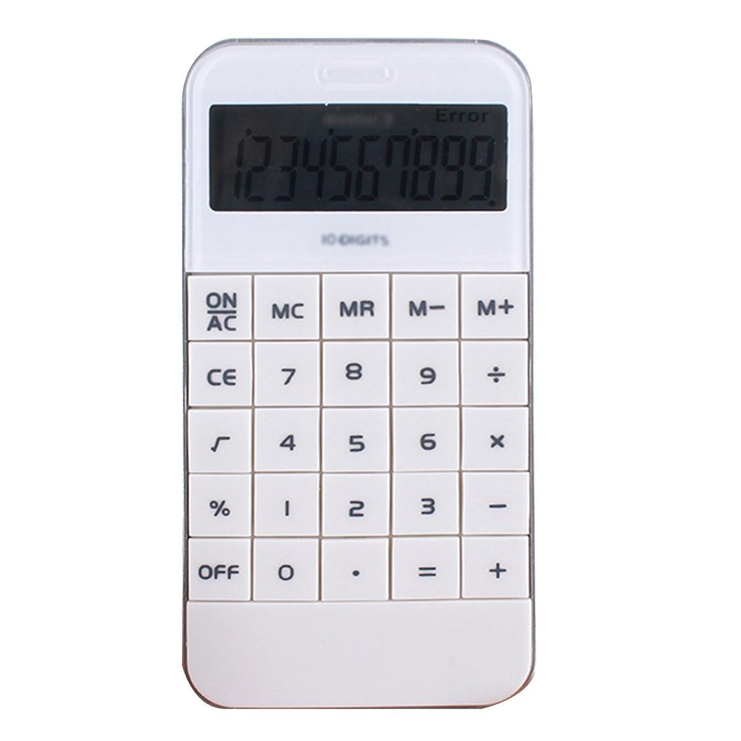 特徴路面電車足クララ10桁ポータブルハンドヘルドスマート電話形状電卓標準関数電卓 one size