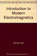 Introduction to Modern Electromagnetics