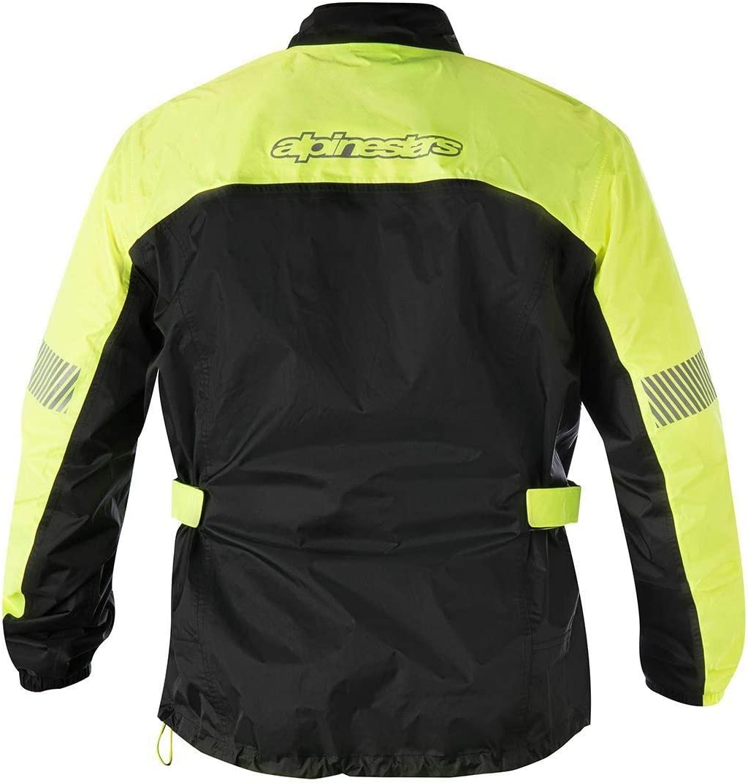 Alpinestars Mens Hurricane Rain Motorcycle Jacket Yellow//Black Medium
