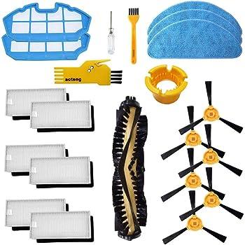 Accesorios para el Robot Aspirador Cecotec Conga Excellence 990 1 Cepillo Principal, 6 filtros Blancos, 6 Cepillos Laterales, 2 Fitlers Azules, 2 Herramienta de Limpieza: Amazon.es: Hogar