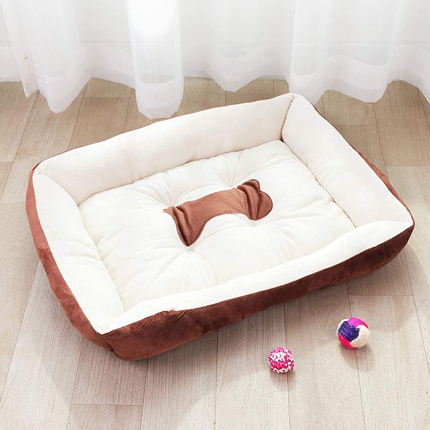Kennel winter warm pet nest large dog cat litter dog mat dog house four seasons60cm