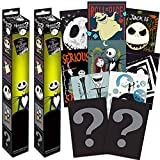 Nightmare Before Christmas Mystery Poster Set ~ Bundle Includes 4 Nightmare Before Christmas Wall Posters (Nightmare Before Christmas Room Decor for Kids Boys Girls)