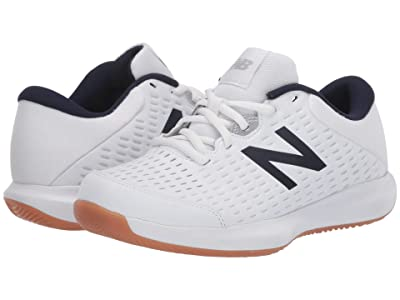 New Balance 696v4 (White/Navy) Men