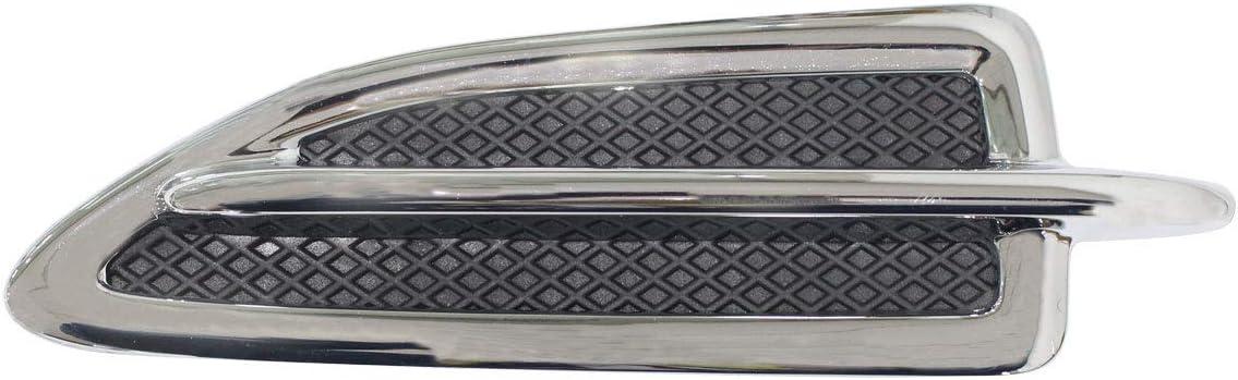 NewYall Popularity Chrome Atlanta Mall Front Right Passenger Side Insert V Emblem Fender