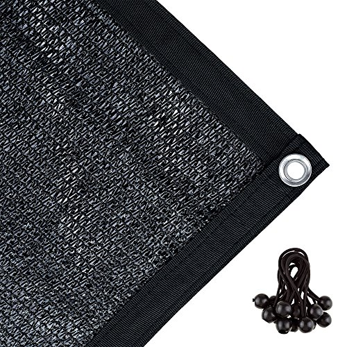 Agfabric 70% Sunblock Shade Cloth with Grommets for Garden Patio 12