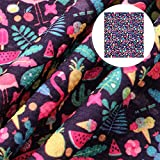 David accessories Wassermelonen-Ananas-Flamingo-Muster,