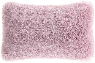 PiccoCasa Faux Fur Throw Pillow Cover,Fluff Plush Cushion Cover Mongolian Luxury Pillow Case Soft Pillow for Home/Sofa/Cou...