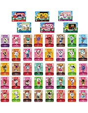 YTWQ 46Pcs NFC Mini Cards for Animal Crossing New Horizons Sanrio Ammibo Cards Compatible with Switch/Lite/New 3DS