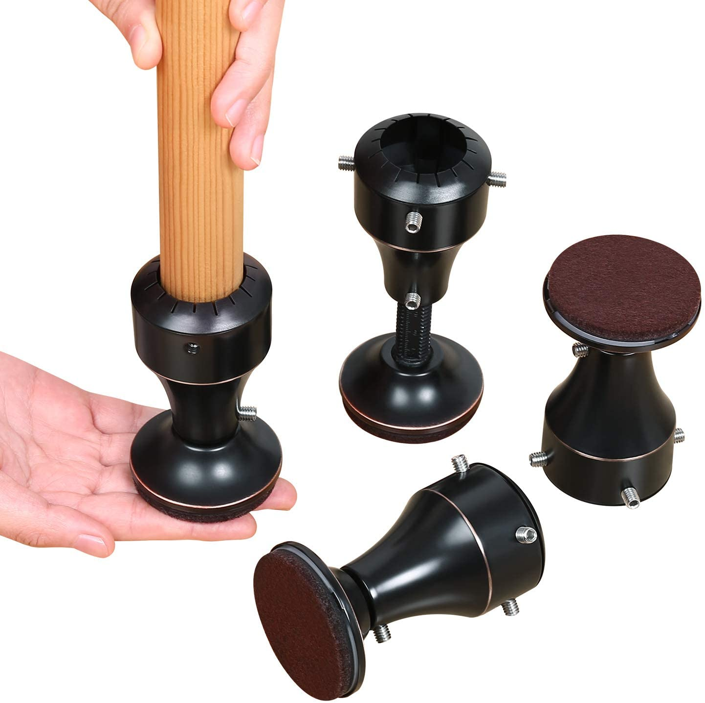 Ezprotekt Fits Chair Table Desk Sofa Feet Diameter from 1-1/8