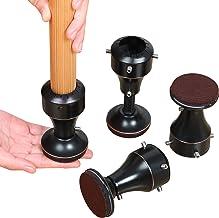 Ezprotekt Verstelbare stoel stijgverhogingen hoogte van 2-5/8 inch tot 4 inch, 0 ° ~ 45 ° draaibare meubels stijgbasis, ge...