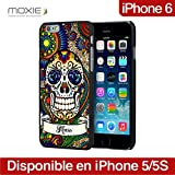 MOXIE Coque Skull Fancy Bleu pour iPhone 6 (4.7'')