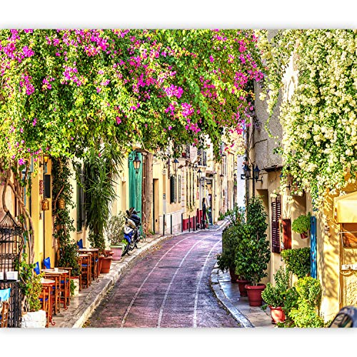 murando Fotomurali adesivi Toscana 441x315 cm carta da parati audoadesiva carta da parati moderna fotomurale carte da parati Soggiorno Vicolo Citta Architettura d-B-0333-a-a