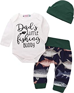 Lamuusaa Newborn Toddler Baby Girl Boy Letter Printed Short Sleeve Romper Bodysuit Pants Hat 3Pcs Summer Outfit