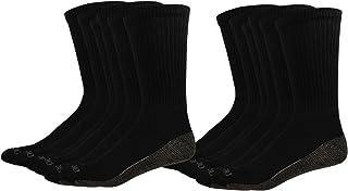 Dickies mens Multi-pack Dri-tech Moisture Control Crew Socks Socks