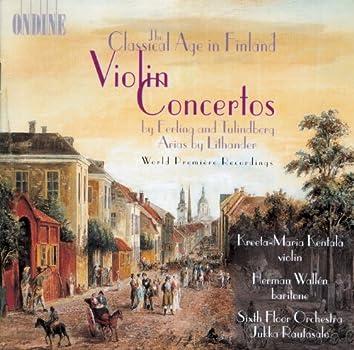 Ferling, E.: Violin Concerto in D Major / Contradance Nos. 2 and 3 / Tulindberg, E.: Violin Concerto, Op. 1