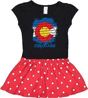 Graffiti Colorado State Flag Infant Dress 31b7b