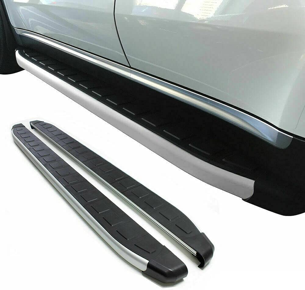BreaAP Side Step Running Boards Nerf Bars Alu. 2 Pcs Compatible New York NEW before selling Mall