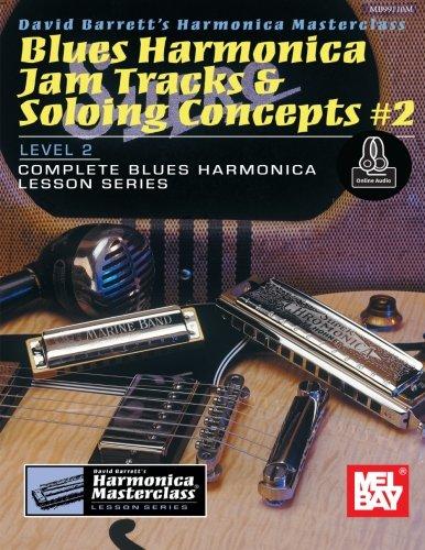 Blues Harmonica Jam Tracks & Soloing Concepts #2 (Harmonica