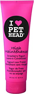 Pet Head High Maintenance Leave-in Conditioner - Strawberry Yogurt