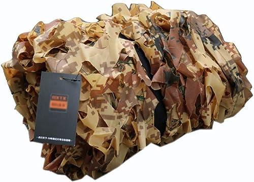 ZX- Filet De Camouflage, Filet D'ombrage D'aire de Jeu Pour Enfants Cachette de Chasse, Cacher de Tir, Abris de Camping (taille   10X10m)