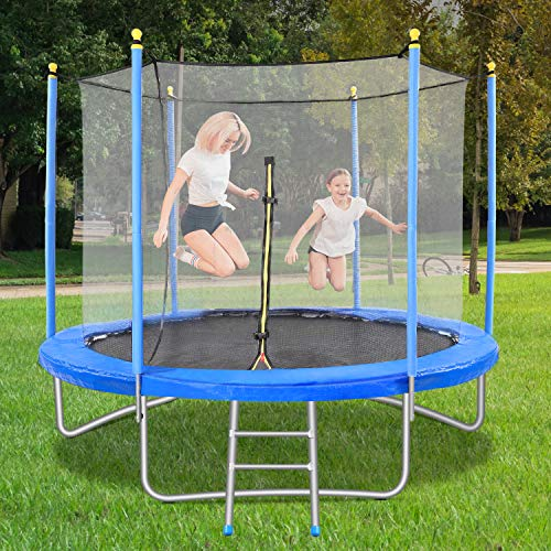 10FT Trampoline for Kids Adults with...
