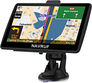 $66 » NAVRUF GPS Navigation for Car 7 Inch with High Resolution Touch Screen Real Voice Direction Vehicle GPS Navigator Lifetime...