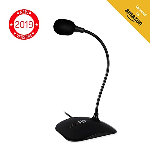 Yahoo Recording Skype Cortana MSN VAlinks USB Microphone,Plug /&Play Computer Microphone Recording Mic USB Condenser Microphone Compatible with PC and Mac,Ideal for Chatting