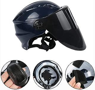 Pawaca 2 en 1 Mascaras de Soldar Automática/Casco de Seguridad Trabajo,Careta Soldadura Automatica de Oscurecimiento Máscara del Rango de Sombra Ajustable 4/9-13 para ARC TIG Mig Molienda
