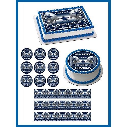 Dallas Cowboys Cake Decorations Amazon