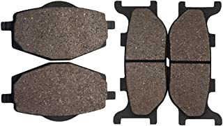 Cyleto Plaquettes de frein avant et arri/ère pour Suzuki Gsf1200/S Gsf1200s GSF 1200/S Bandit 1200/1996/1997/1998/1999/2000