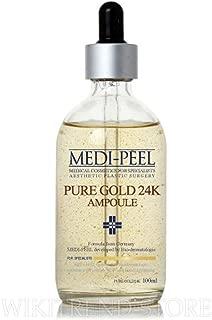 Medi-Peel Pure Gold 24K Ampoule 100ml - Skin Care Anti-Aging Anti-Wrinkle