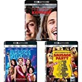 Pineapple Express + Rough Night + Sausage Party