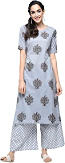 stylum cotton desginer printed kurta set