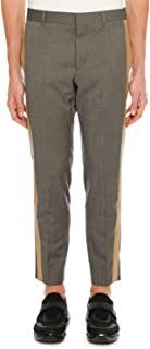 Men's Side-Stripe Ankle Pants Beige
