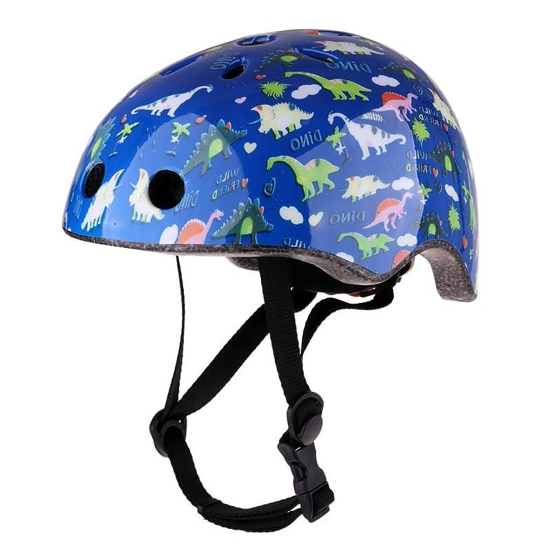 DYNWAVE Kids Roller Skating Scooter Bike Outdoor Sport Safety Helmet Guard ftbvxxbp046262