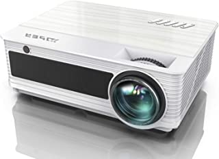 Projector, YABER Native 1080P Movie Projector with 6500 Lumens 78,000 Hours X/Y Zoom Function, Full HD Video Projector Com...