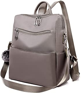 Sports Oxford Backpack Travel School Shoulder Bag Daypack (Color : Khaki)