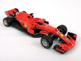5 Inch Ferrari SF71H Formula One (F1, F-1) 2018 S. Vettel #5-1/43 Scale Diecast Model