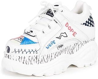 BUFFALO Sneaker 1339-14 Graffiti Taglia 39 - Colore Bianco
