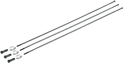 Zipp CX Ray Rayon mamelon straight-pull externe 3 pi/èces Argent